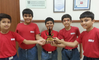 MRV Stars in the Interschool Competition