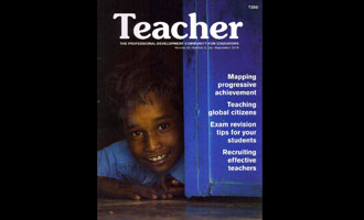MRV Creates Headlines with the Teacher Magazine