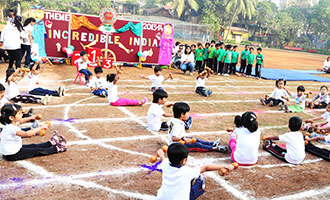 MRV Annual Sports Day 2013-14