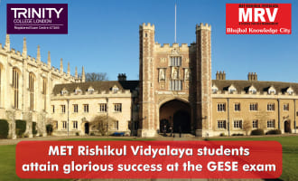 MRV students attain glorious success at the GESE exam