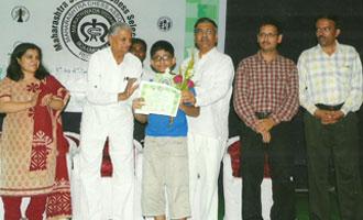 MRV student to represent Maharashtra at the National Tournament
