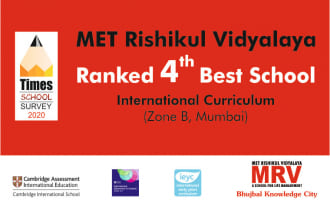 MRV: 4th Best School in Mumbai (Zone B)