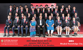 MRV Shines Ever Brighter at IGCSE Exams
